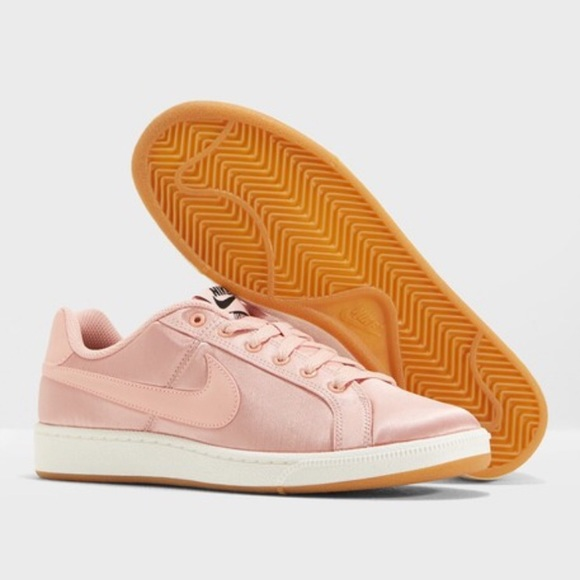 Nike Shoes - NIKE Womans Pink Court Royale SE Sneakers